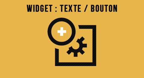 Widget : Texte avec lien / bouton