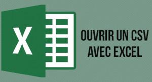 Ouvrir un fichier .csv avec Excel